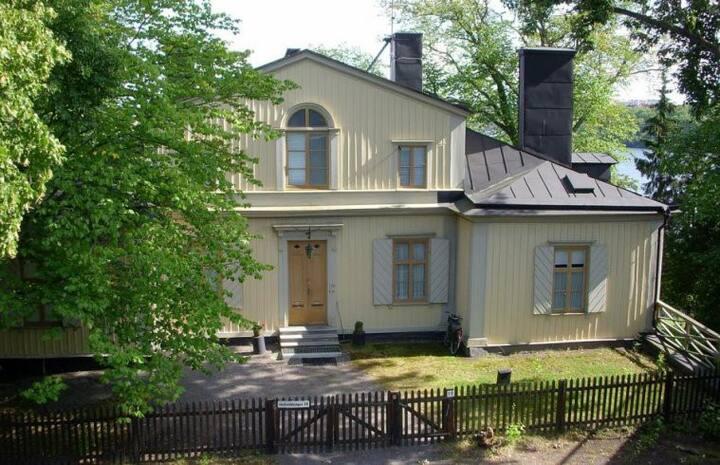 Unik villa i centrala Stockholm - rum för en