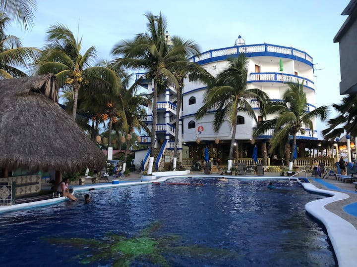 Bungalows Paraíso Laguna del Tule habitacion