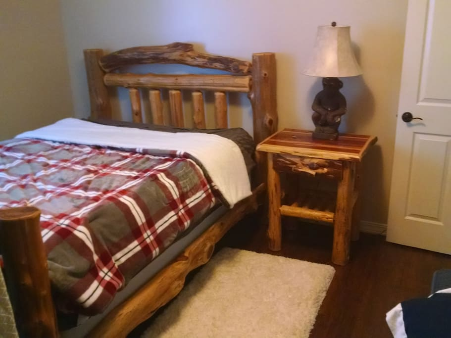 Private Bedroom, Queen size bed