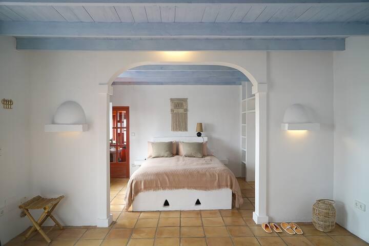 Schlafbereich der Casa Lisboa