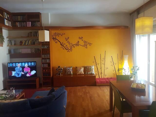 camera doppia con bagno privato a Roma