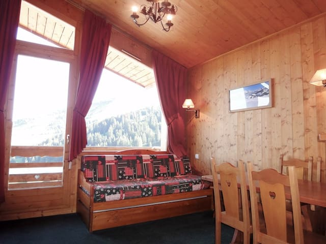 PS0918 - CHARMING APARTMENT NICE VIEW ON THE VALLEY, TOP FLOOR - MERIBEL MOTTARET - Apartment