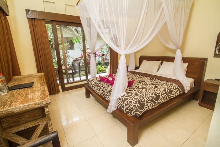 1BR Balinese style in the heart of Ubud