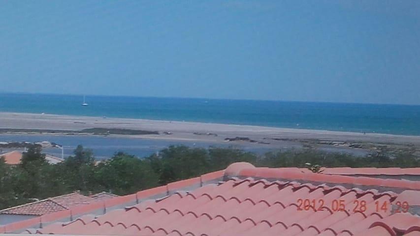 Beau Riad  clim wiffi  vue mer  parking à 300m mer - Fleury - Casa