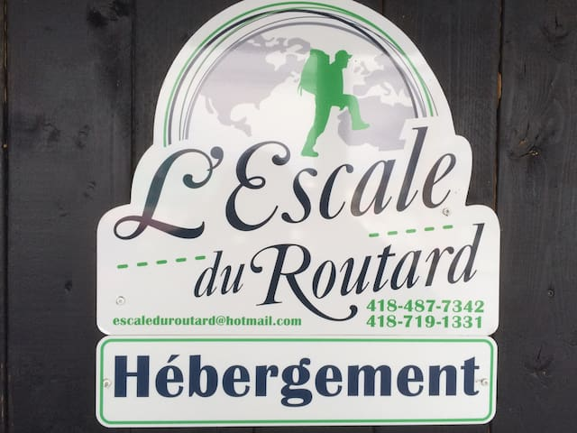 L'escale du routard !