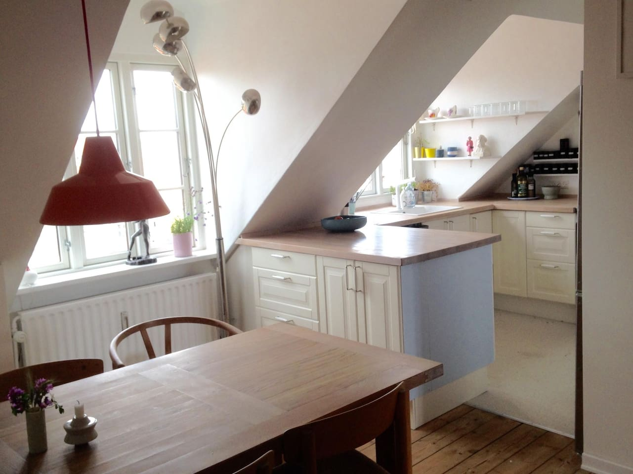 Penthouse flat in the heart of Frederiksbjerg