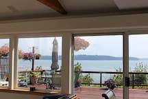 THIS IS YOUR VIEW FROM INSIDE THE VACATION HOME
