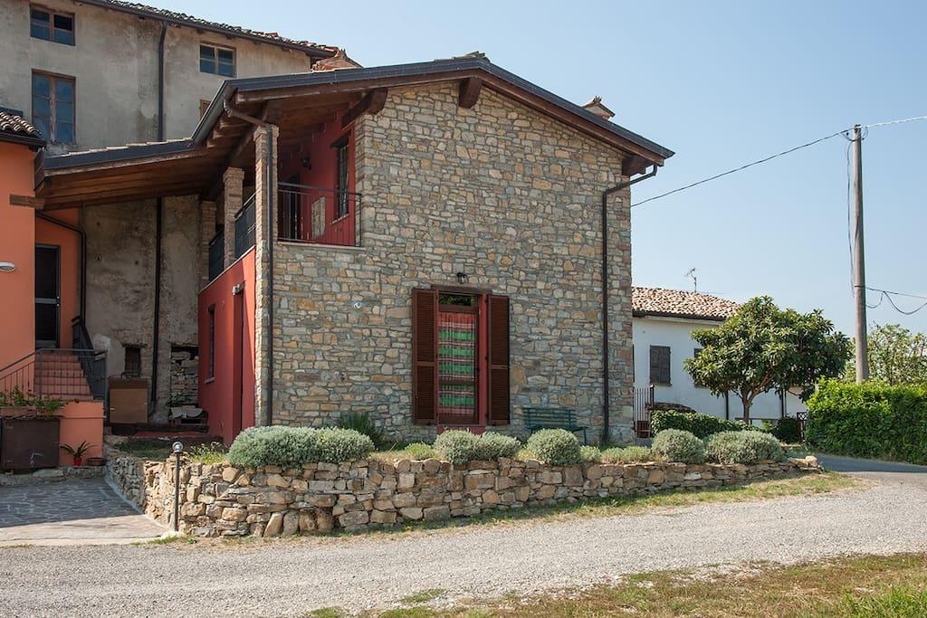 Gropparello- bed and Bike Ai Groppi-  Casa ristrutturata nel 2011