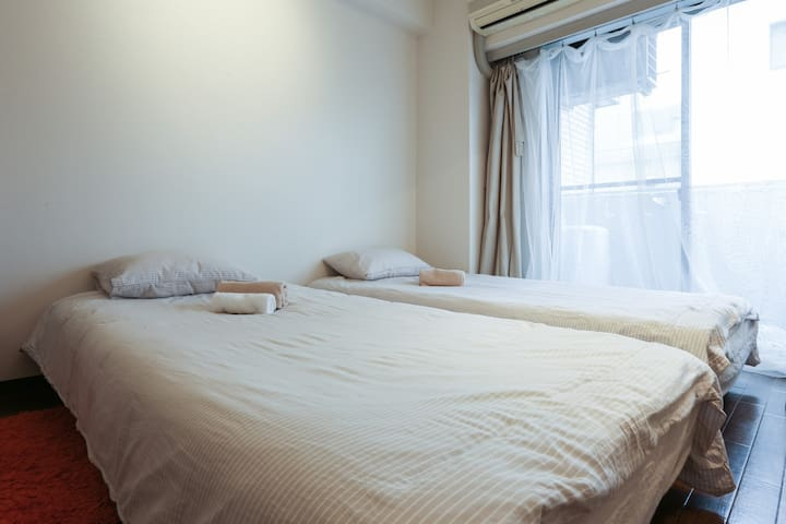 free pocket wifi Sinjyuku cozy 4min - 新宿区 - Appartement
