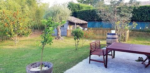 Jolie maison dans les vignes à 20 min de Bordeaux.