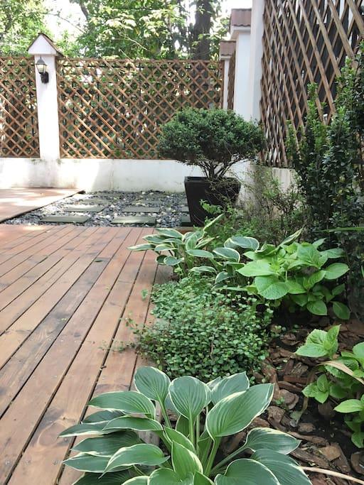 our big garden