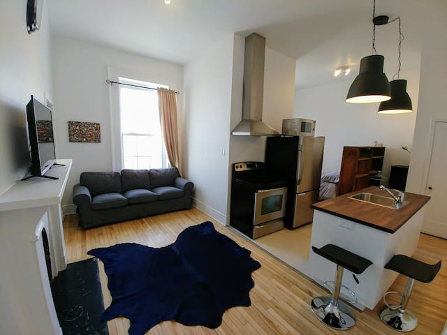 Rare & perfectly located flat in Old Quebec city