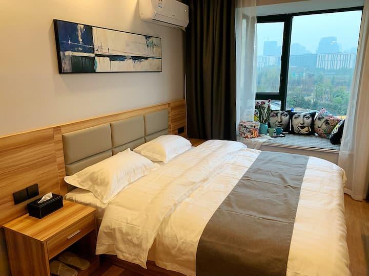 【逸然居】现代简约公寓 距南京南站700米 4S4