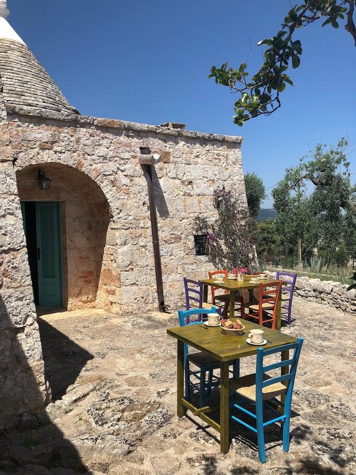 """Fasano, Puglia - Trullo """"L'Alcova"""" 2/3 posti letto"""