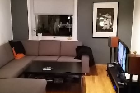 Nice room in spacious apartment - Bergen - Apartemen