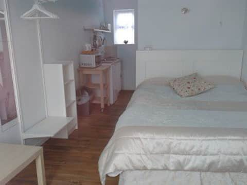 Comfortable self- contained studio.