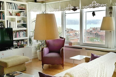 Sunny+cosy house with a splendid Bosphorus view