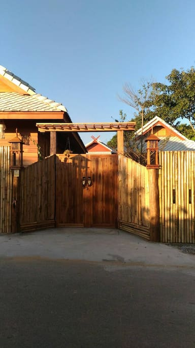 Second entrance door