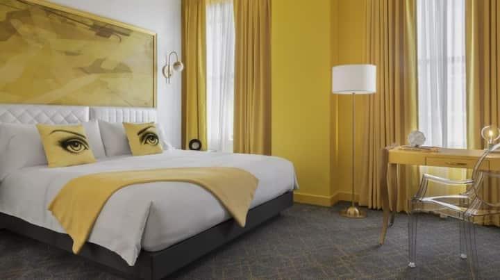 Angad Arts Hotel, King Room