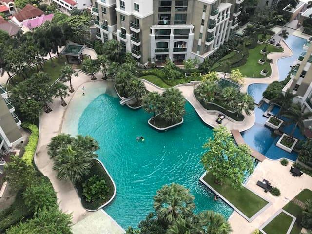 Wonderful Resort-like Condo in Central Bangkok中文服务