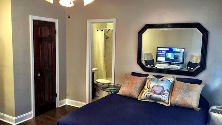 Private Suite near Beach & Night Life