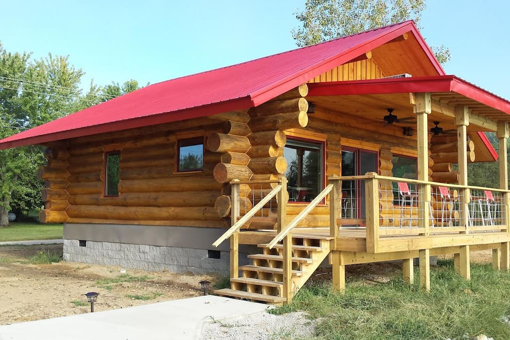 big timber river cabins quot the eagle s nest quot cabins for rent in leavenworth indiana united states