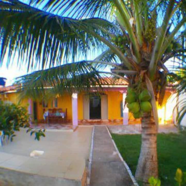 Casa da Bia em Alcobaça Bahia