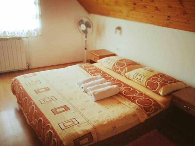 Plitvice lakes,  First stop,Double room