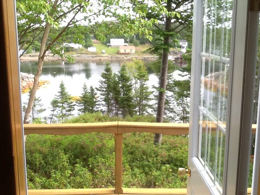 Lovely and peaceful harbor view from the front door!