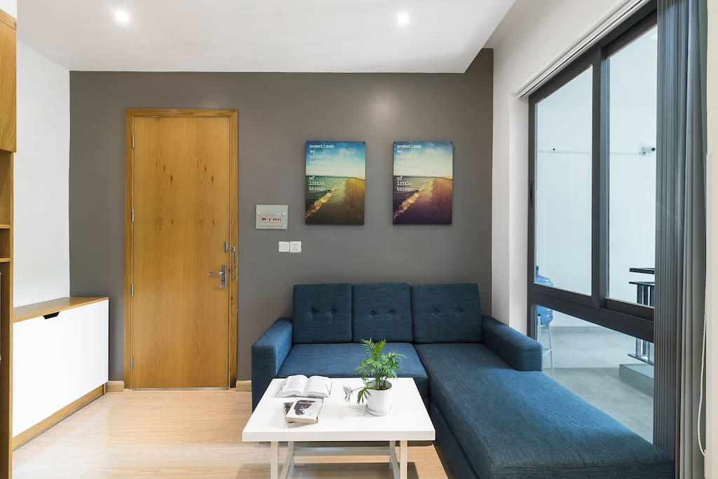 Your spacious lightful living area