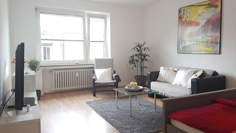 Apartment NO 2 Düsseldorf-Pempelfort 48m²