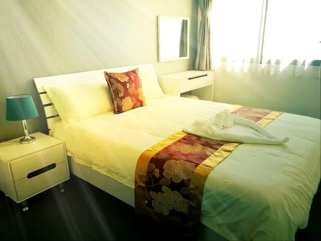 30【公园山景,花园泳池】UNIXX宁静舒适山景一房一厅度假公寓 - Pattaya City - Wohnung