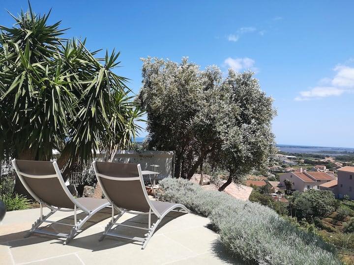 Bel appartement proche Bastia et plage