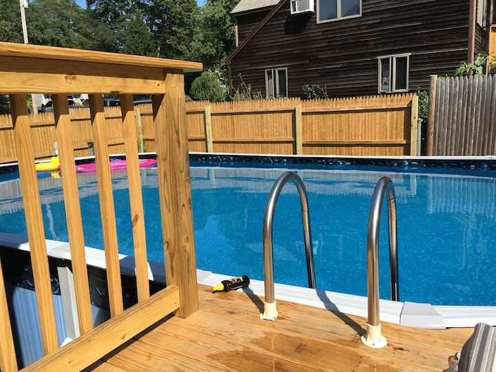 Perfect for families.   Enjoy pool and beach days.