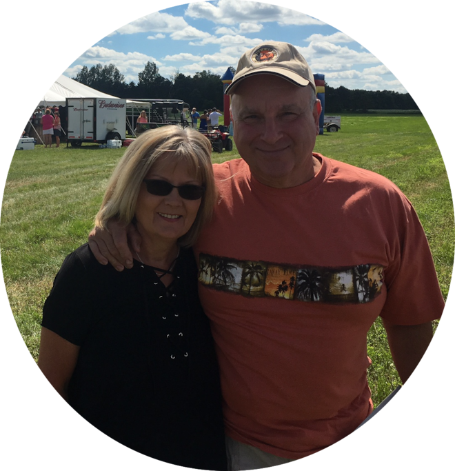 My amazing parents, Jan and Randy