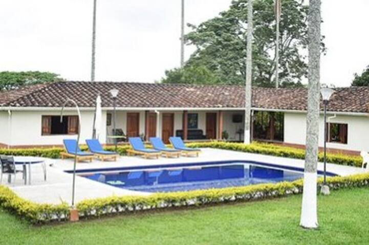 Welcome to a Typical Colombian Country House