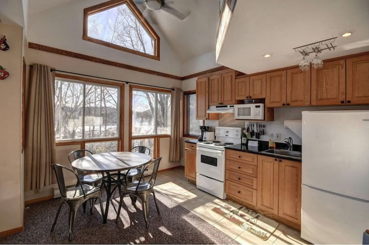 With Lots of Large Windows, Unit is Bright and Cozy