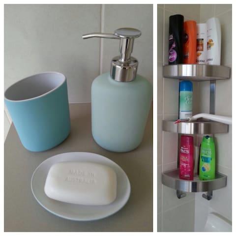Soap, shampoo