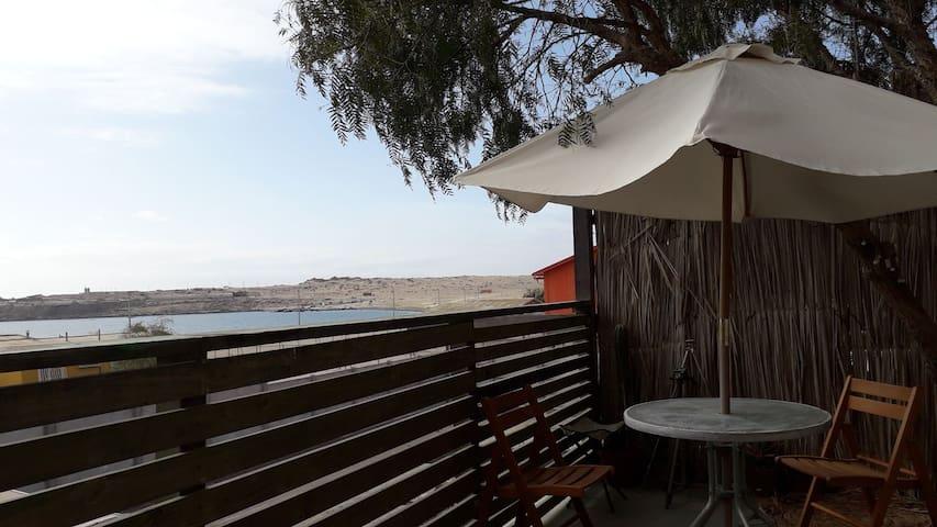 playa loreto ,Domo 10 Con vista al mar, caldera
