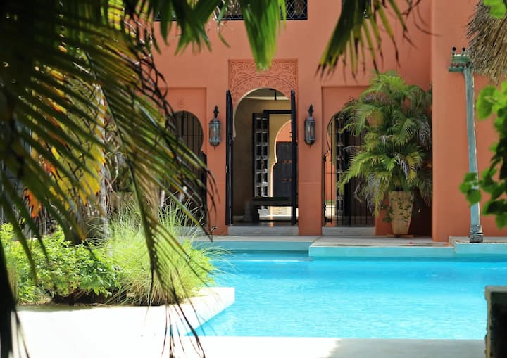 Dar Meetii Villa Watamu 4 B/R+Swimming pool+Chef