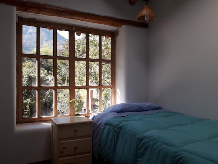 El Molle, private single room