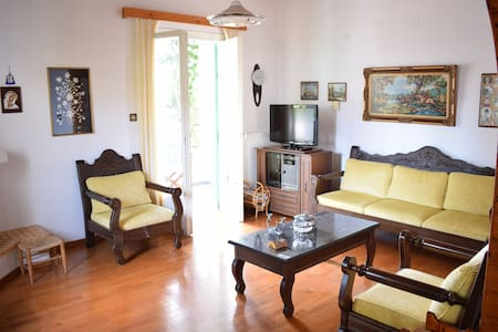 Lovely place in Votsi for 4 guests! - Votsi - Haus