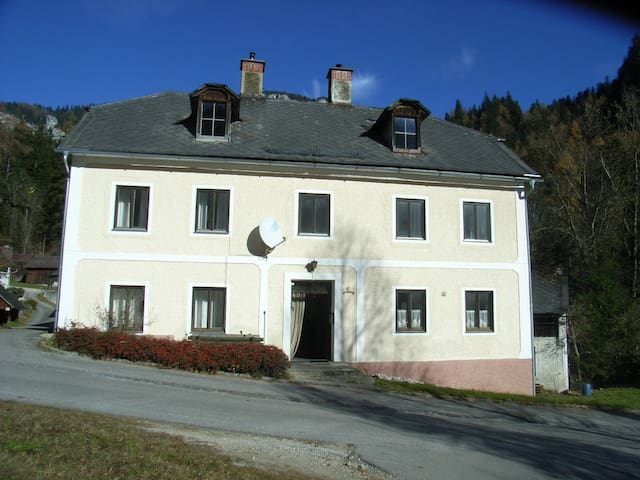 Spacious and Cosy Austrian Farm House in Village - Untergrimming - Talo