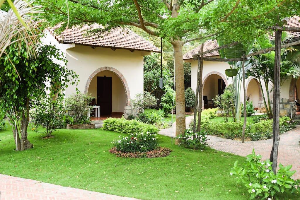 Bungalow & garden