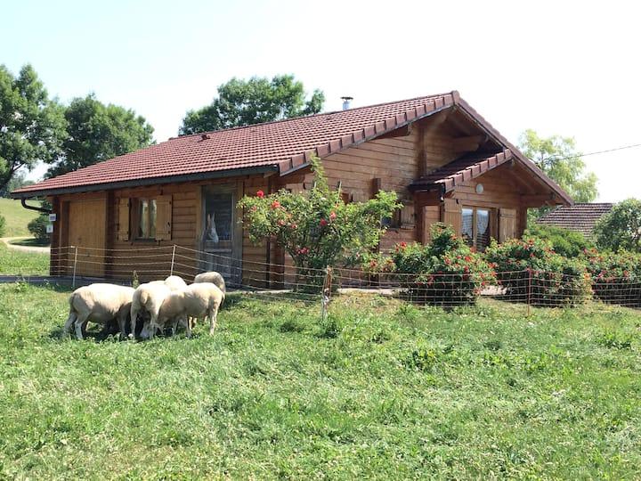 LES CHALETS A LA FERME (avec sauna)