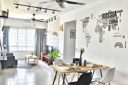 Scandinavian Apartment @ Setia Alam - Shah Alam