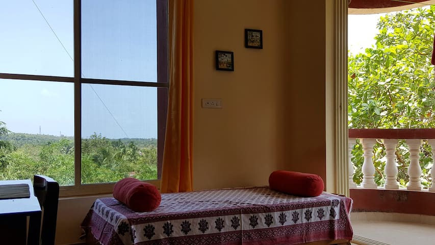 Cozy 1BD with great view - Canacona - Flat