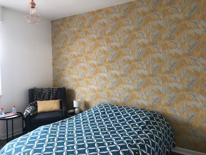 Bedroom 12m2 | Tramway > Geneva | Appart en Coloc