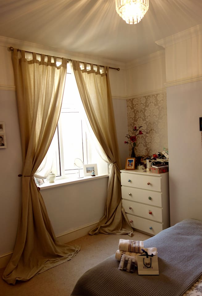 Bedroom One Window View