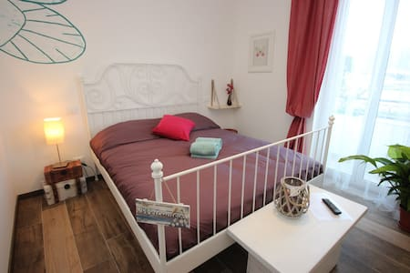 B&B Il Leone Bianco camera Farfalle - Bastia - Bed & Breakfast
